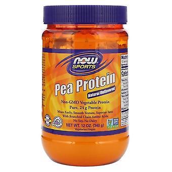 Hrášok proteín-prírodná Neochucená (340 gram)-teraz potraviny