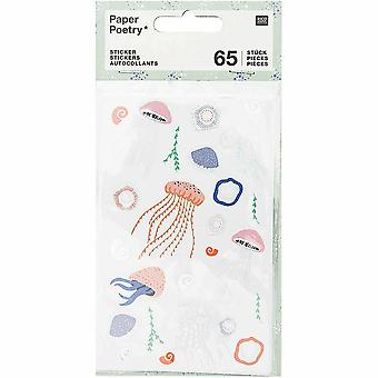 Jelly Fish Stickers x 65 Scrapbooking Crafts