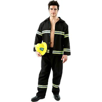 Orion kostuums mens brandweerman Stag doen brandweerman uniform grappig fancy dress