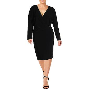 Lauren by Ralph Lauren | Plus Phebe Long Sleeve Evening Dress