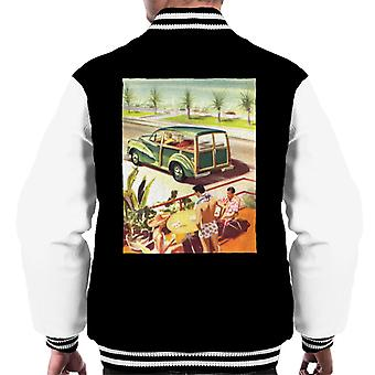 Morris Traveller Summer British Motor Heritage Men's Varsity Jacket