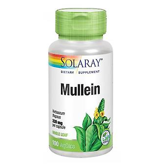 Solaray Mullein, 330 mg, 100 czapki