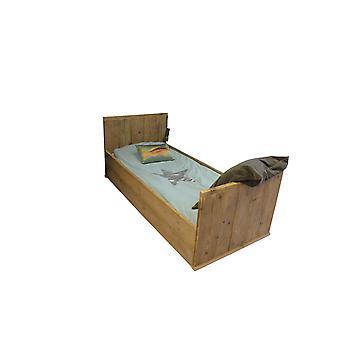 Wood4you - Eenpersoonsbed Luuk 206Lx70Hx97D cm