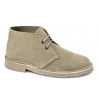 Cotswold Sahara Mens Suede Desert Boots Sand