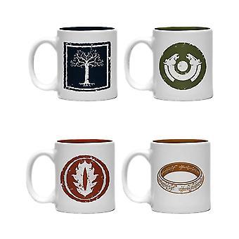 The Lord of The Rings Icons Mini Mug Set