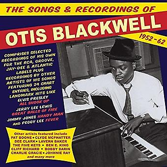 Otis Blackwell - Songs & Recordings of Otis Blackwell 1952-62 [CD] USA import