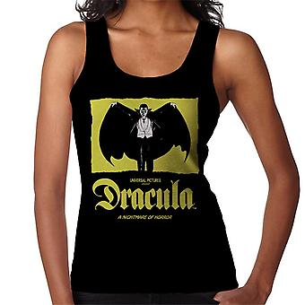Dracula Nightmare Of Horror Women's Vest