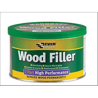 Everbuild 2 Part Wood Filler Medium 500g
