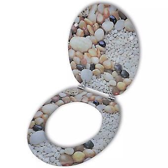 Toiletbril wc-bril MDF Stones Ontwerp