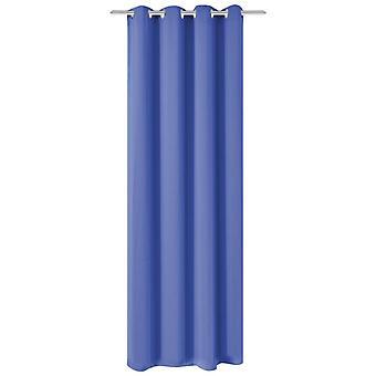 فيداكسل التعتيم الستار مع المعدن يفصل 270 × 245 سم الأزرق