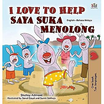 I Love to Help (English Malay Bilingual Book for Kids) (English Malay Bilingual Collection)