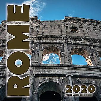 Rome 2020 Mini Wall Calendar