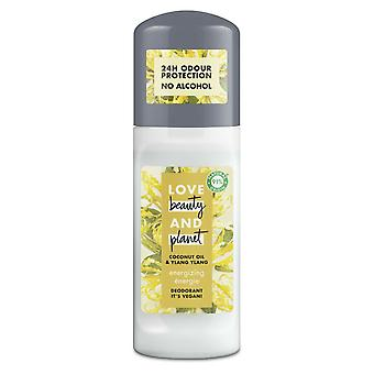 LBP Vegan 24H Odour Protection No Alcohol Roll-on 50ml Energizing