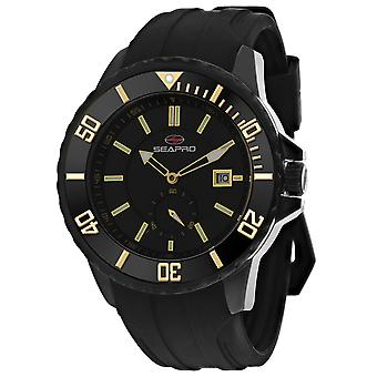 Reloj Seapro Men's Force Black Dial - SP0514