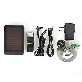 Photo-traps Hunting Game, Camera Battery Solar Panel Charger, External Power