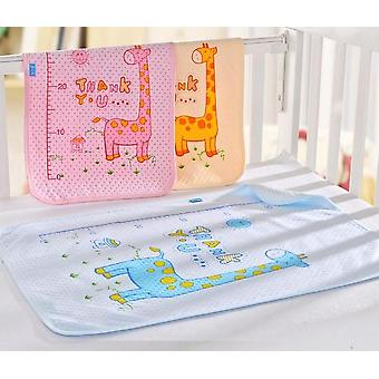 Baby Kids Reusable Waterproof Mattress, Bedding Diapering Changing Mat,