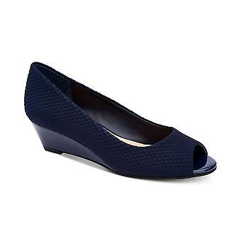 Alfani dame Leahs Peep Toe afslappet Platform sandaler
