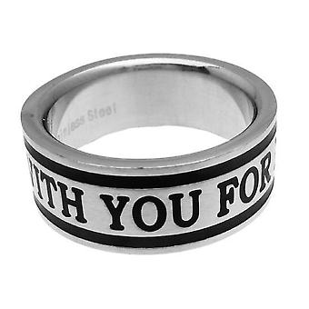 Friman Rostfritt Stål Ring With You Forever
