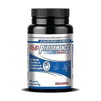 Performance brain 60 capsules of 716mg