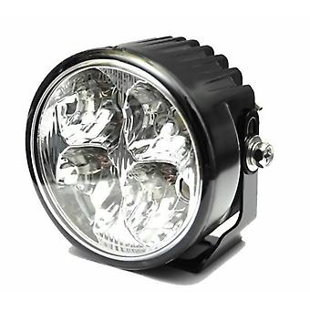 Highsider Daytime Running Light 4 High Power LED Black Aluminium Case