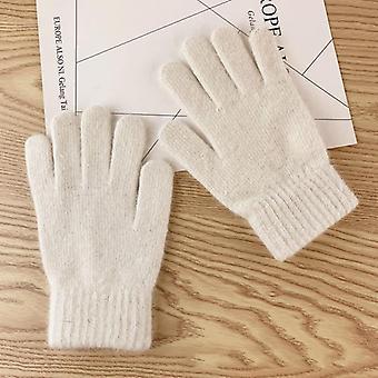 Iarna Cute Plush Cald de echitatie, femei mănuși și mănuși de iarnă femei