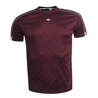 Adidas Originals-kehittäjä: Alexander Wang Short Sleeve Miesten T-paita Maroon BR0255 EE101