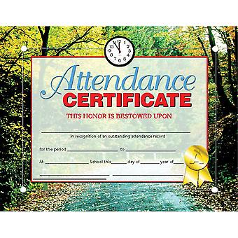 "Attendance Certificate, 8.5"" X 11"", Pack Of 30 H-Va680"