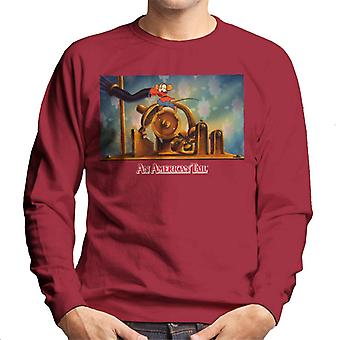 An American Tail Fievel Mousekewitz Running Men's Sweatshirt