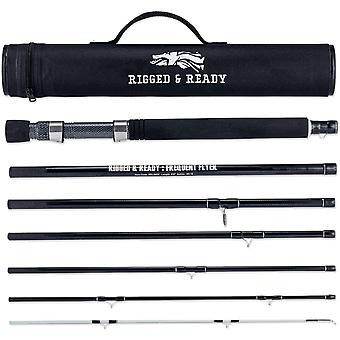Frequent Flyer Travel Fly Fishing Rod & Case for Angling | 260cm