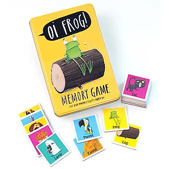University Games Oi! Frog Memory Game