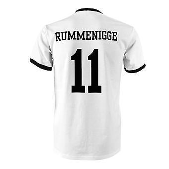 Karl-Heinz Rummenigge 11 Saksa maan Ringer t-paita