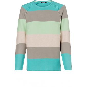 Olsen Bold Striped Jumper
