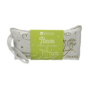 Itaca حقيبة مخلب - Ecobio السفر مجموعة 6 وحدات