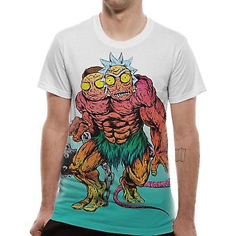 Rick et Morty unisexe adultes Monster sublimée T-Shirt