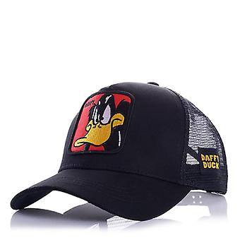Animals Embroidery Men's Baseball Cap, Women Snapback Hip Hop Caps, Summer Mesh
