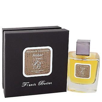 Franck Boclet Amber Eau De Parfum Spray (Unisex) By Franck Boclet 3.4 oz Eau De Parfum Spray