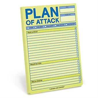 Knock Knock Plan of Attack Classic Pad Pastel Edition by Knock Knock