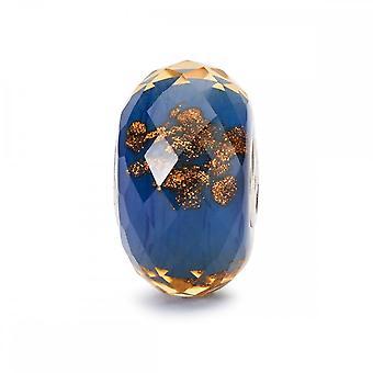 Trollbeads Azul Twinkle Vidrio Abalorio TGLBE-30038
