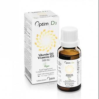 Laboratoire Optim D3 Vitamin D supplement 20 ml