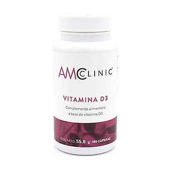 Vitamin D3 180 capsules