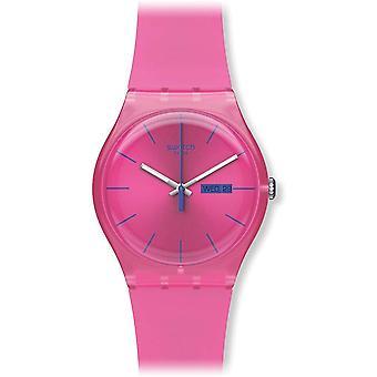 Swatch Pink Rebel Ladies se SUOP700
