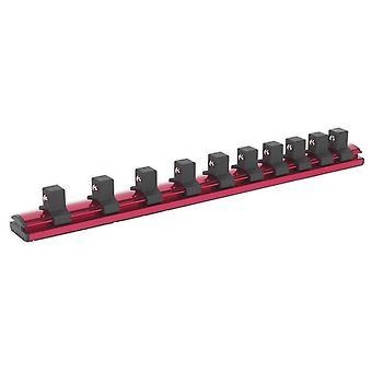 Sealey Ak27084 Socket fastholde jernbane magnetiske låsning 1/2Sq køre 10 klip