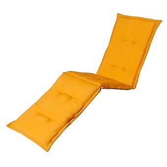 aurinkotuolityyny Panama 200 x 65 cm puuvilla/polyesteri keltainen