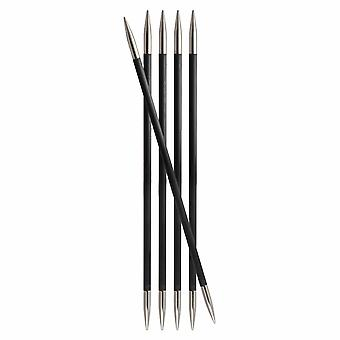 KnitPro Karbonz: Neuletappit: Kaksiosainen: Viiden sarja: 20cm x 2,25mm