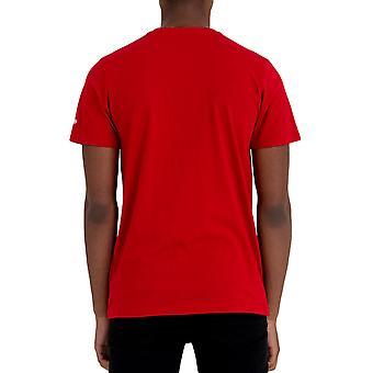 New Era Miesten New York Yankees Team Logo Crew Neck T-paita Toppi - Punainen