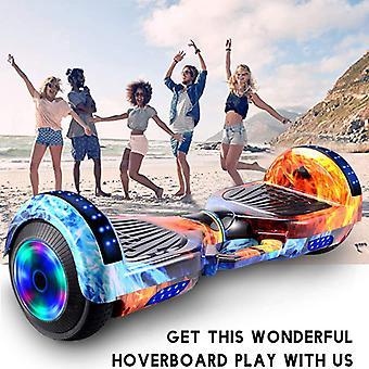 Smart balans hjul hoverboard skateboard Bluetooth självbalanserande scooter flash hjul 2 hjul självbalanserande scooter