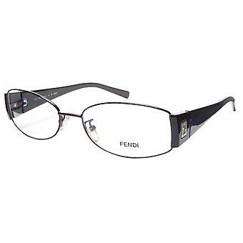 FENDI النظارات الإطار F606R (539) المعدنية الداكنة البنفسجي ايطاليا أدلى 54-16-130، 32