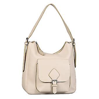Tom Tailor Milana, Women's Hobo Bag, Dirty White, Large