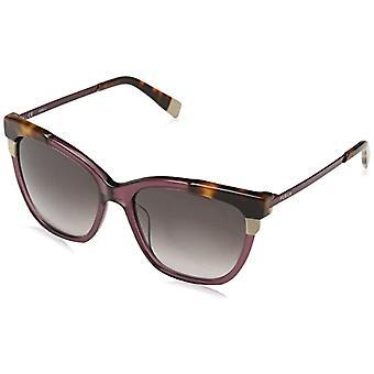 FURLA Briller Kvinders N / A solbriller, Flerfarvet (Shiny Transparent Plum Purple), 55