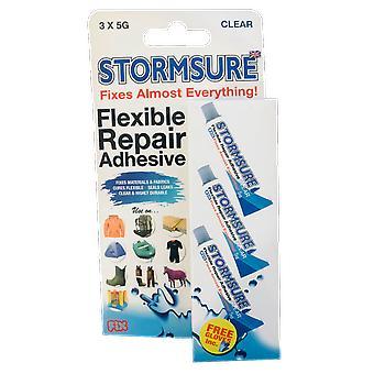 Stormsure Flexible Repair Adhesive 3 x 5g